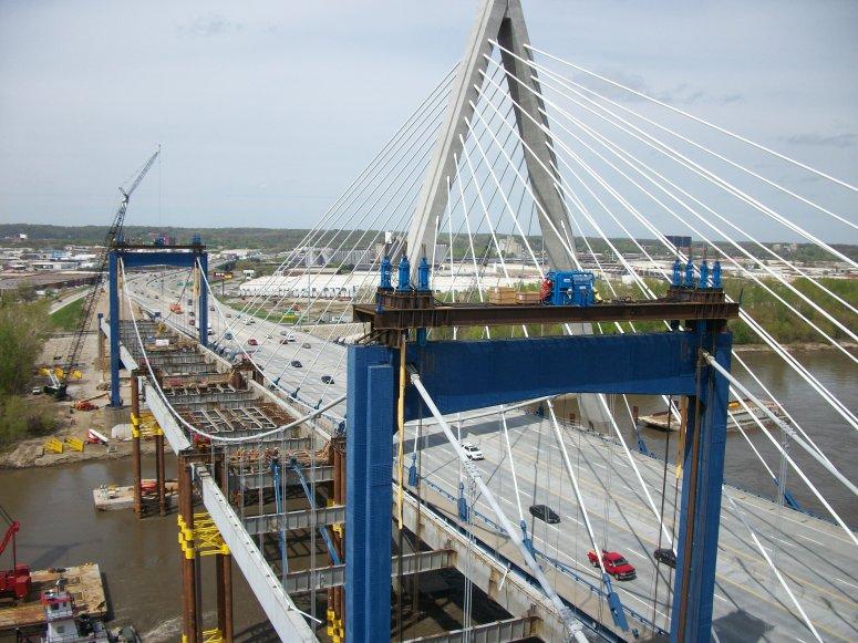 Demolition of Paseo Bridge
