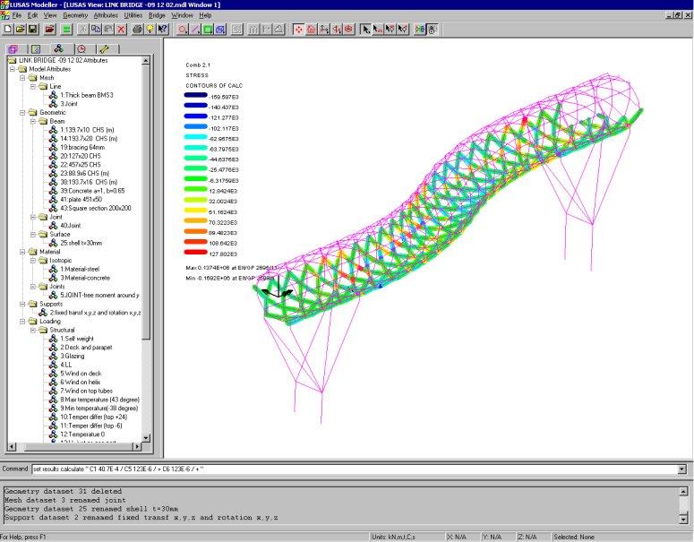 Steel Bridge Design Software