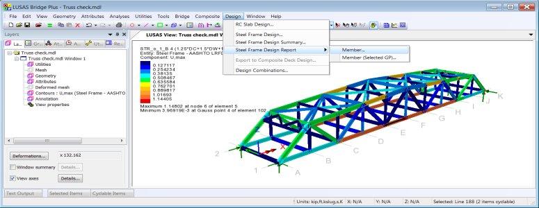 LUSAS Bridge Design Software Tour - Design Code Facilities